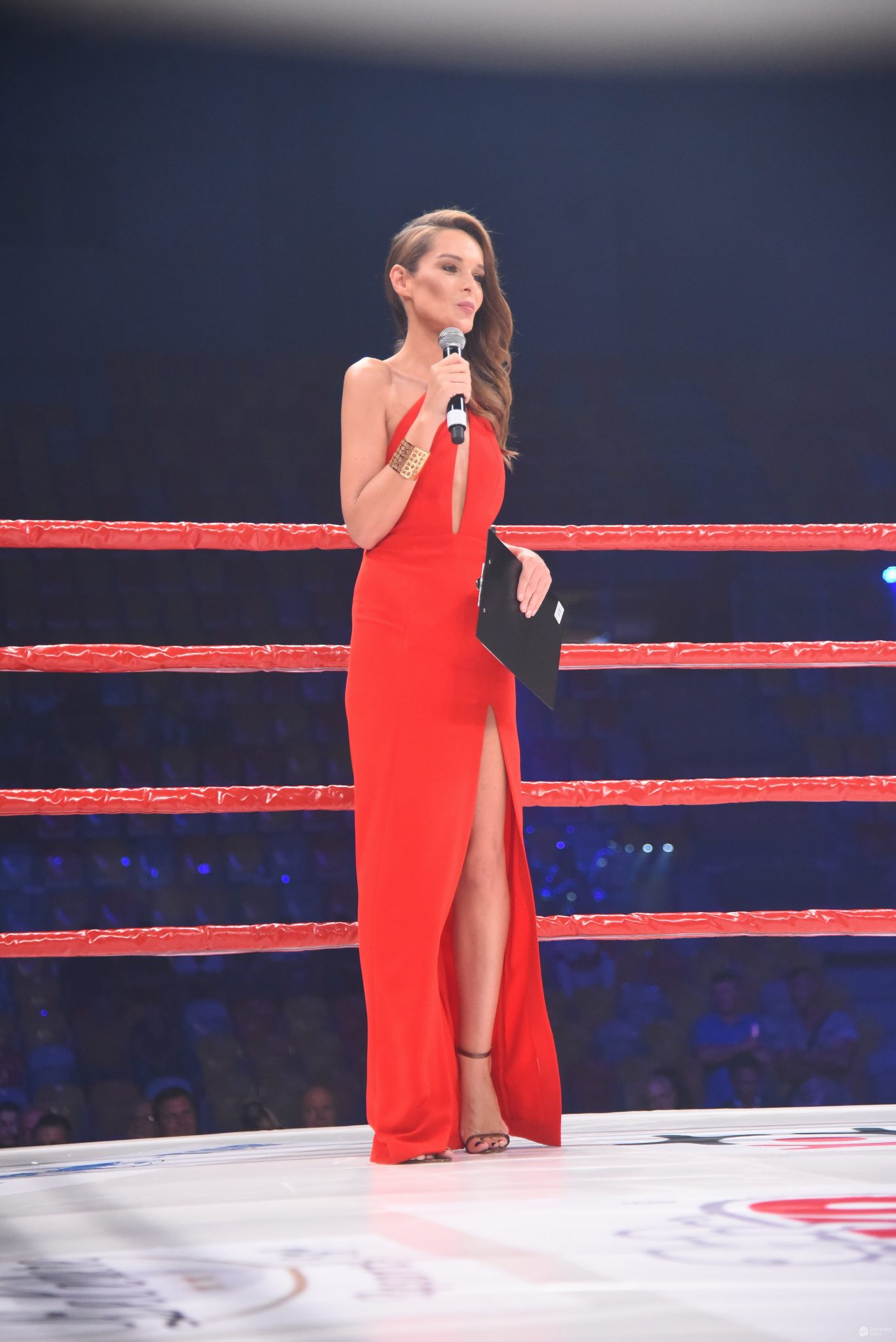 Kasia Sowińska w sukni Marlu