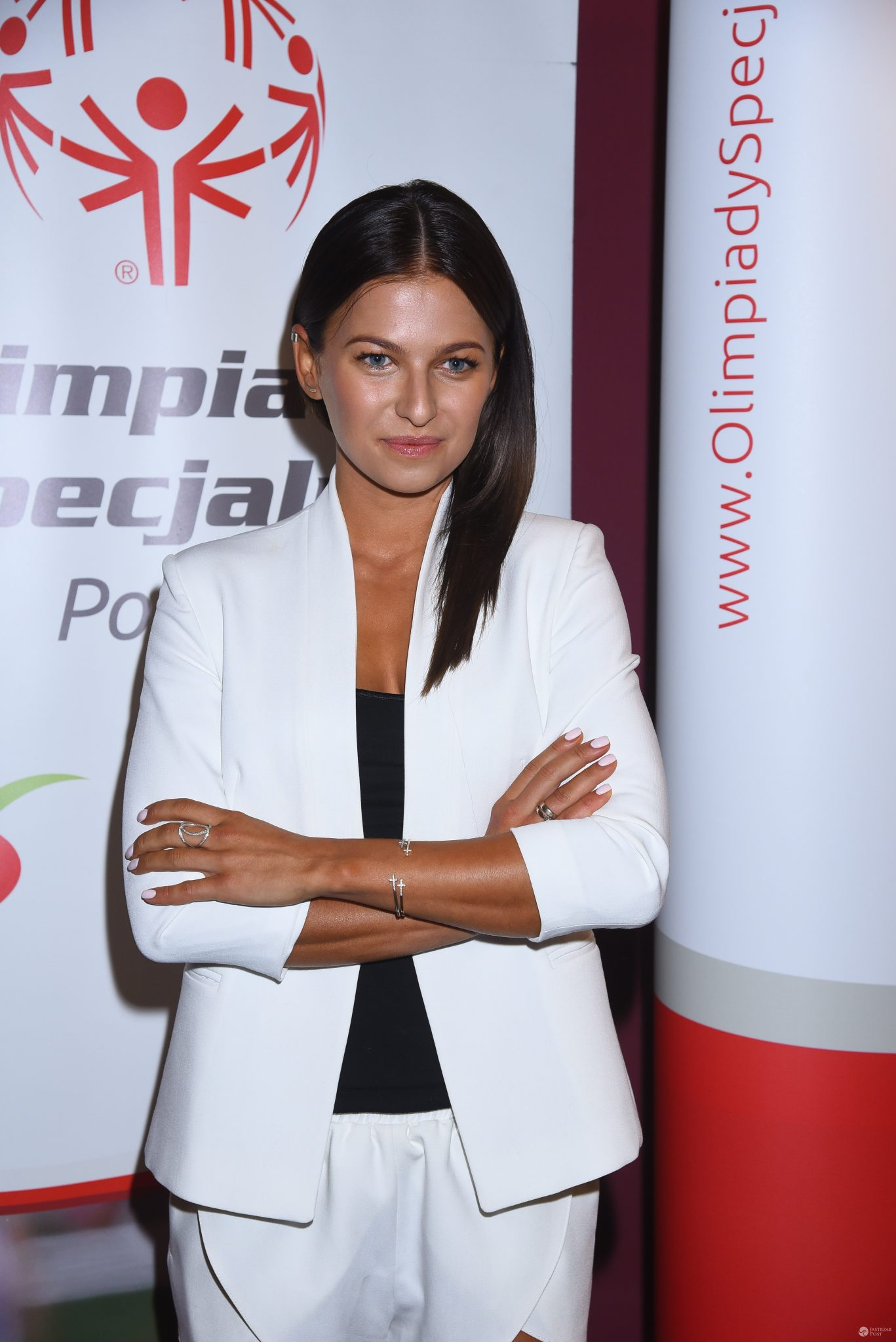 Anna Lewandowska na konferencji Olimpiad Specjalnych Polska