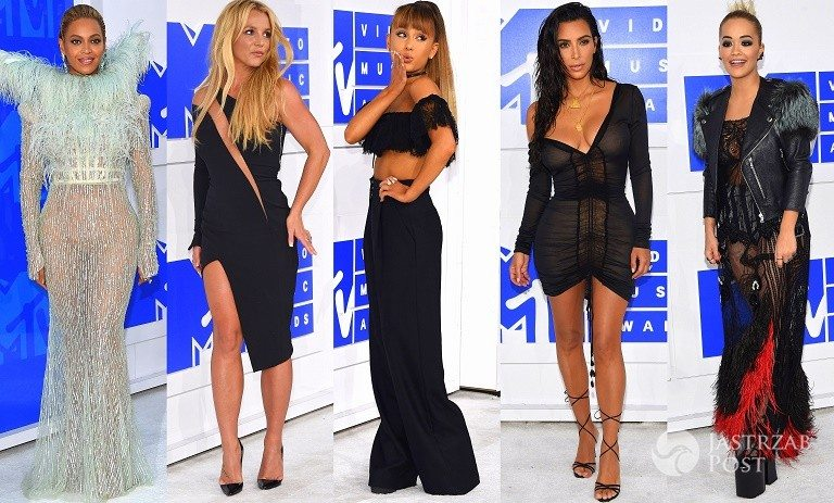 Gwiazdy na MTV Video Music Awards 2016: Britney Spears, Beyonce, Ariana Grande, Alicia Keys, Nicki Minaj, Kim Kardashian, Rita Ora…