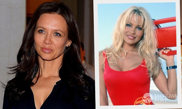 Kinga Rusin jak Pamela Anderson