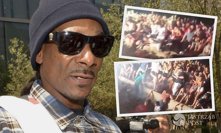 Wypadek na koncercie Snoop Dogga
