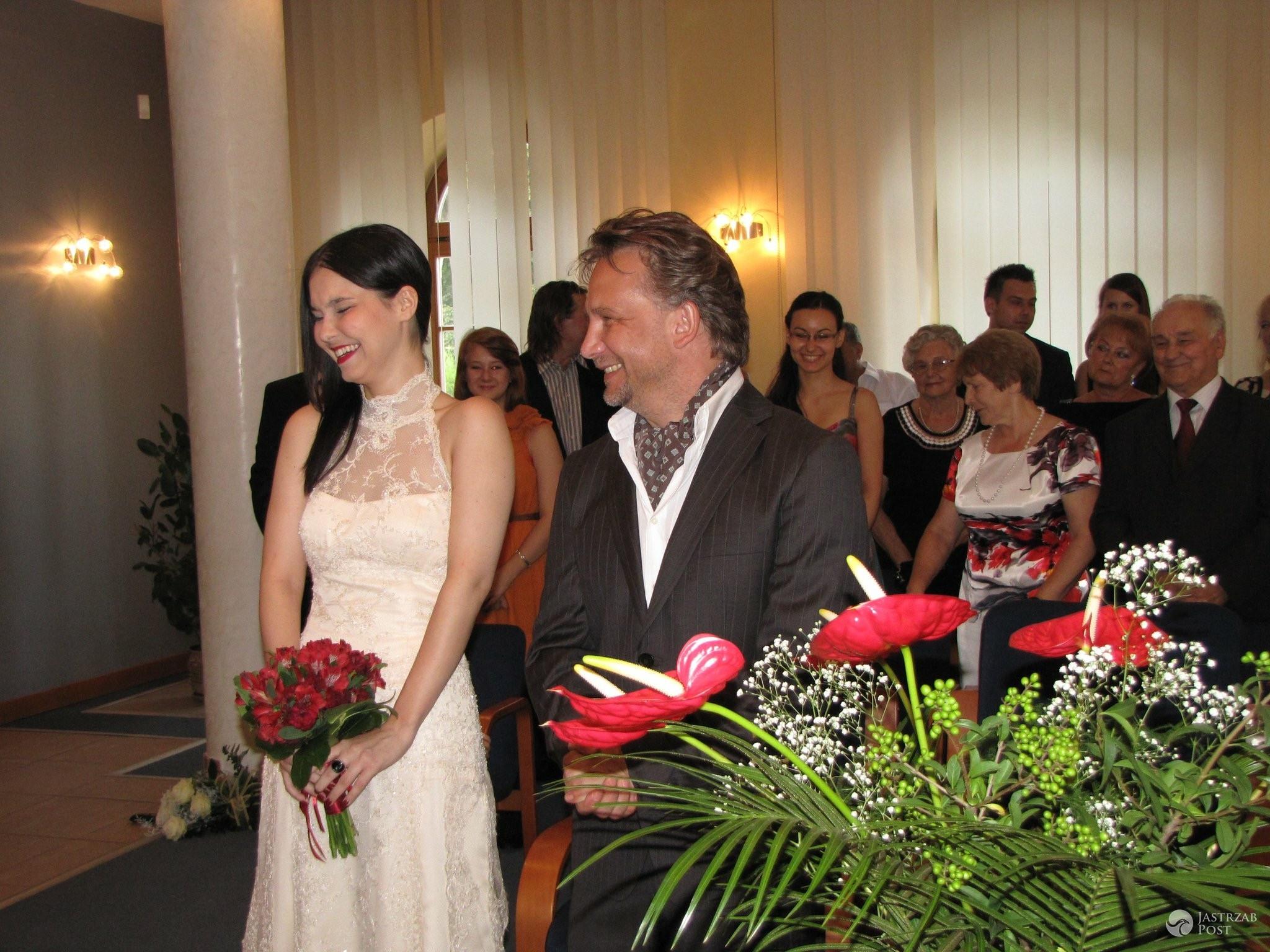 Paulina Drażba i Jerzy Kamiński wzięli ślub w 2011 roku