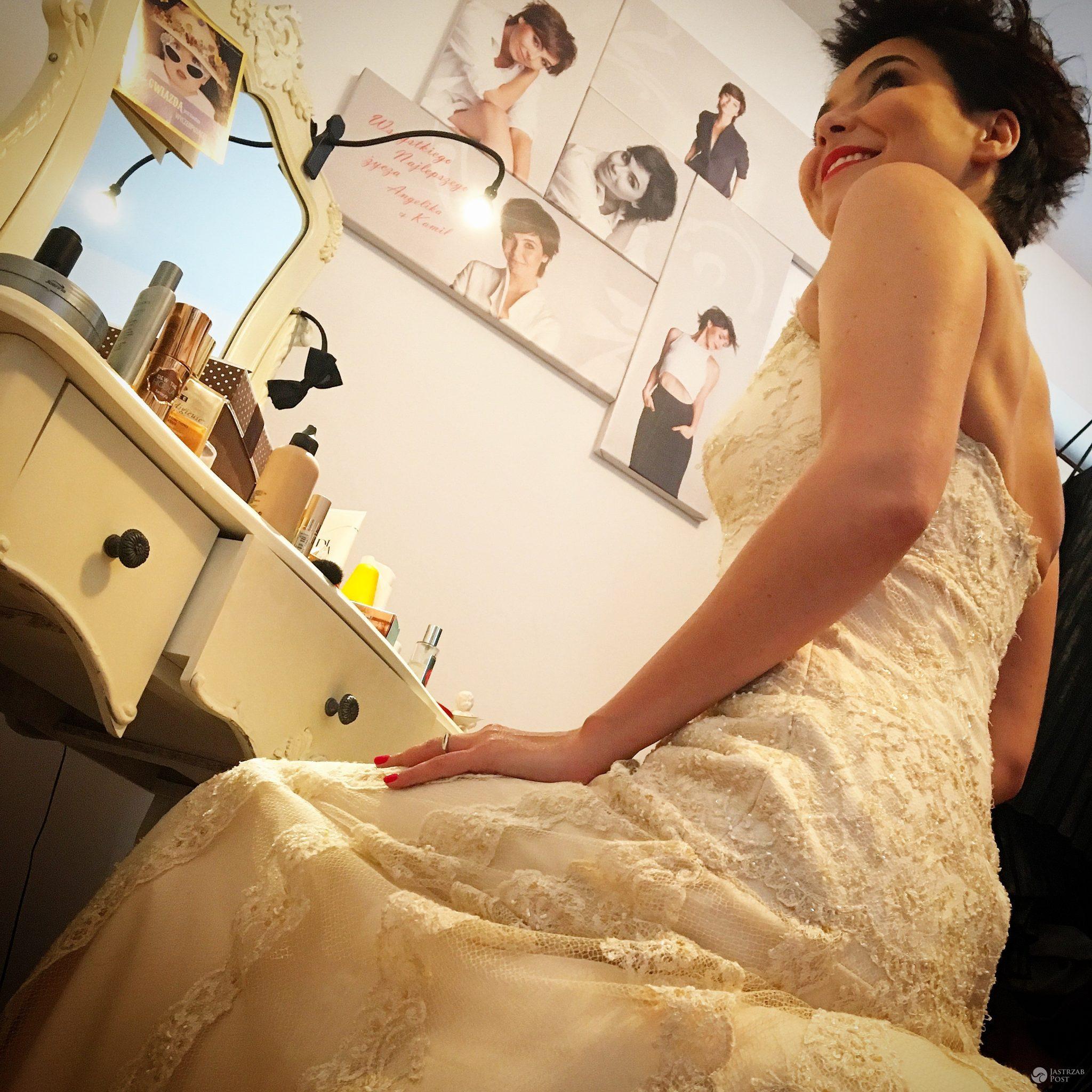 5 lat po ślubie suknia ślubna wciąż pasuje! Na zdj. Paulina Drażba