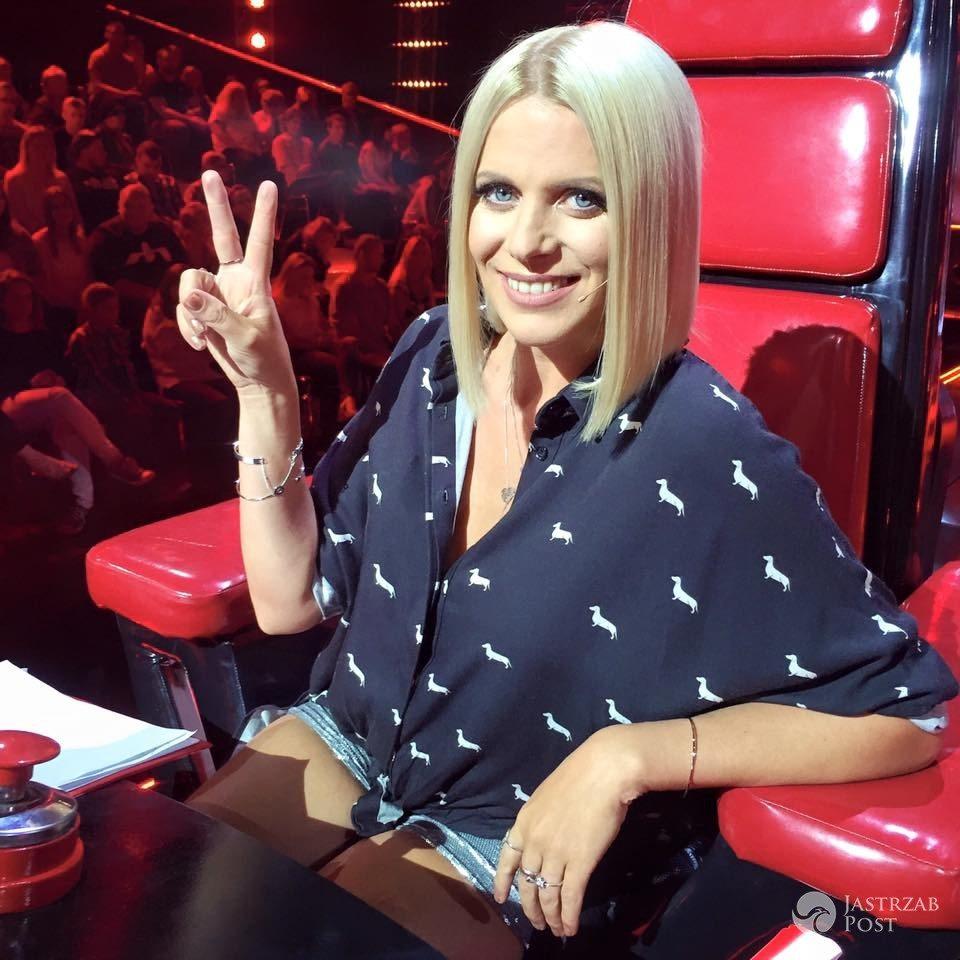 Maria Sadowska w krótkich włosach
