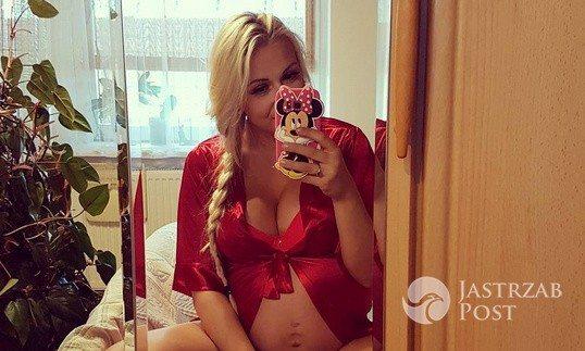 Eliza Wesołowska - ostatnie zdjęcia przed drugim porodem