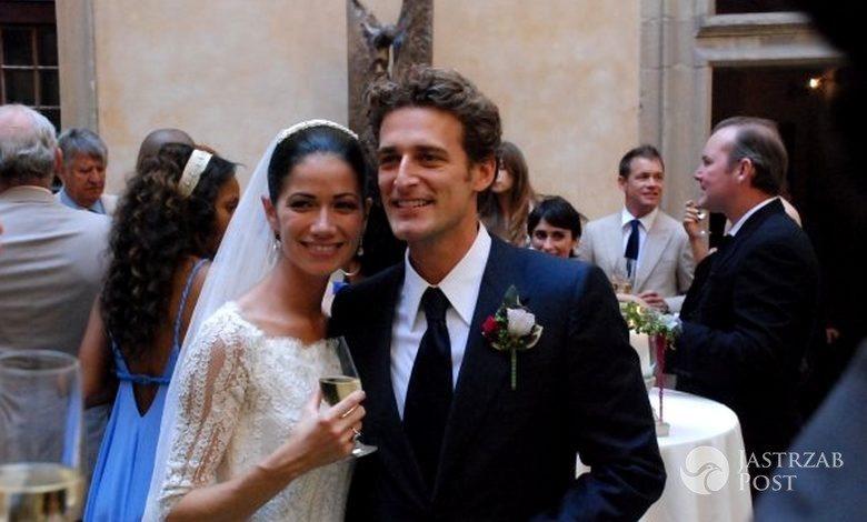 Alexi Lubomirski z żoną