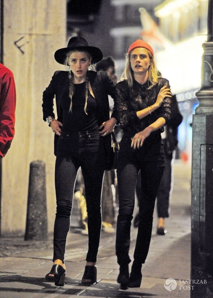 EXC - AMBER HEARD PARTING WITH MARGOT ROBBIE AND CARA DELEVINGNE IN LONDON / NASH/XPOSUREPHOTOS.COM , kod: 203892-1