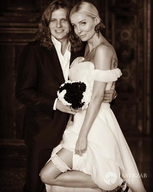 Ślubna sesja Agnieszki Szulim i Piotra Woźniaka-Staraka