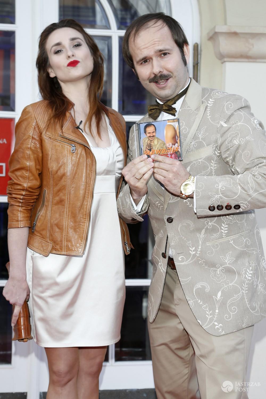 Sławomir Zapała i jego partnerka Magdalena Kajra Kajrowicz spodziewają się dziecka (fot. AKPA)
