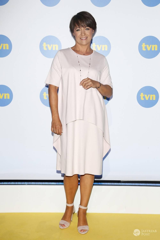 Ewa Drzyzga, prezentacja ramówki TVN na jesień 2016 (fot. AKPA)
