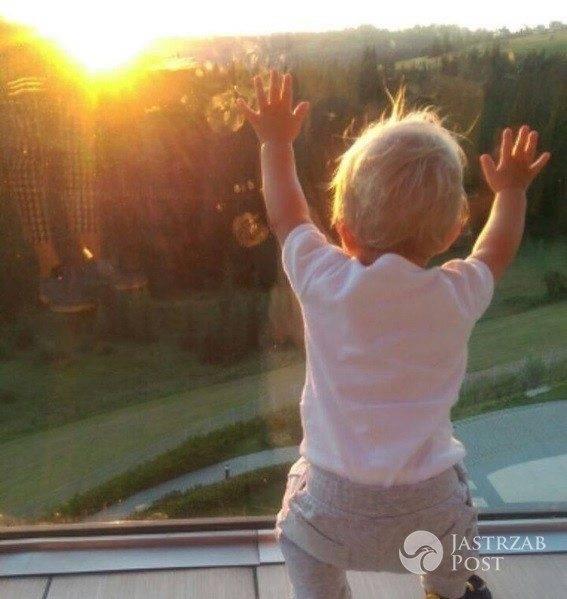 Anna Dereszowska pokazała zdjęcie synka z wakacji