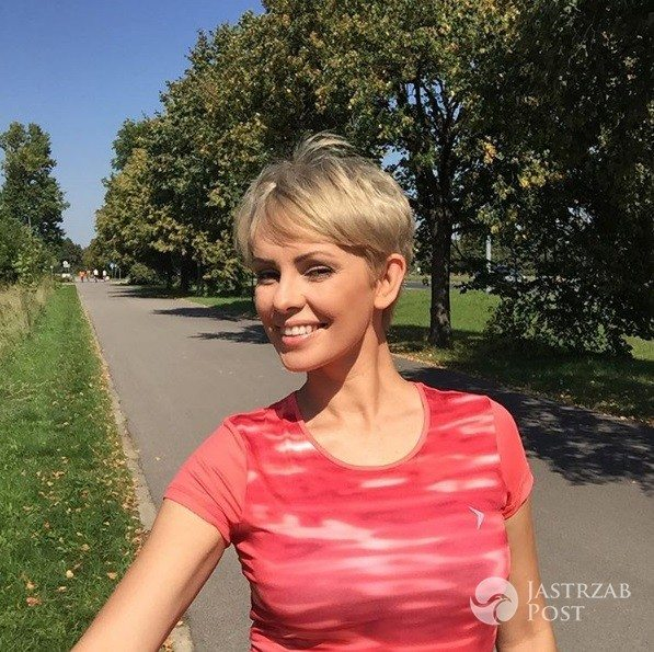 Dorota Gardias jest blondynką
