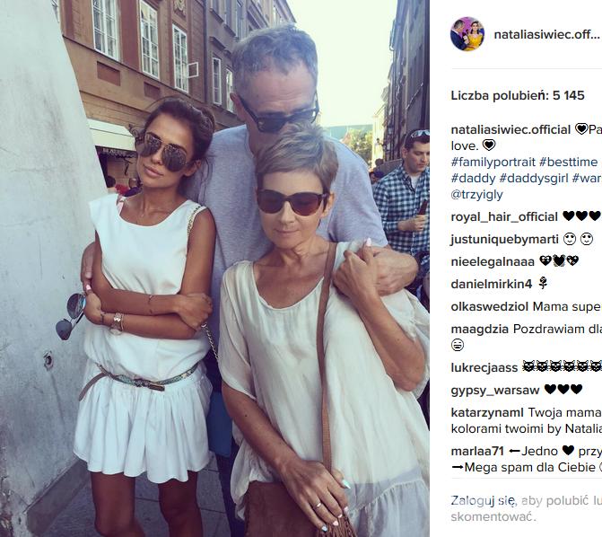 Natalia Siwiec pokazała rodziców