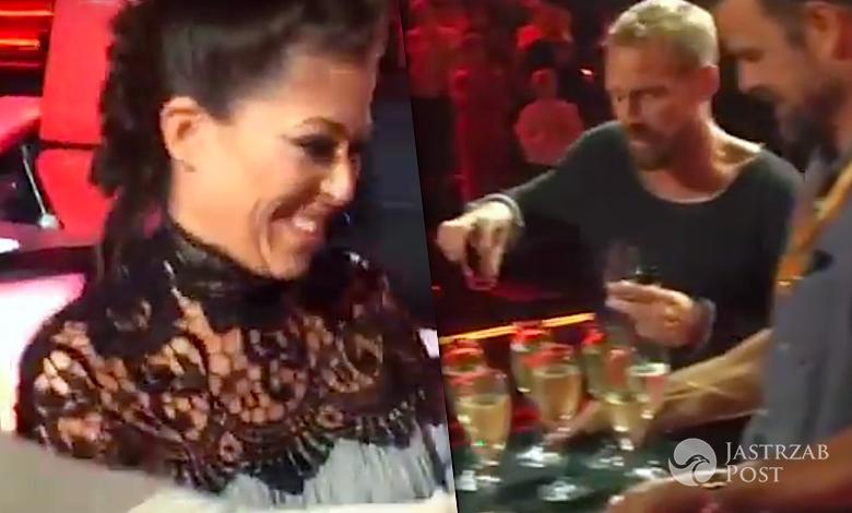 Natalia Kukulska i alkohol na planie The Voice 7