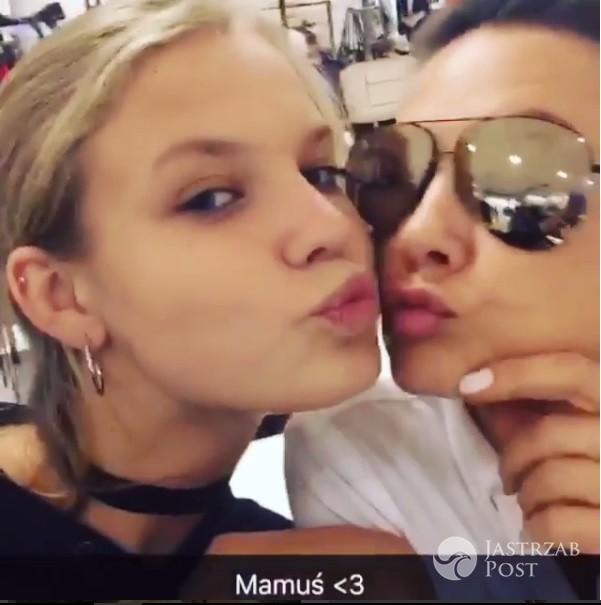 Iga Lis całuje Kingę Rusin na Instagramie