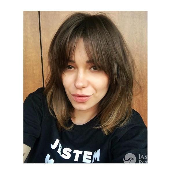 Agnieszka Wesołowska nowa fryzura