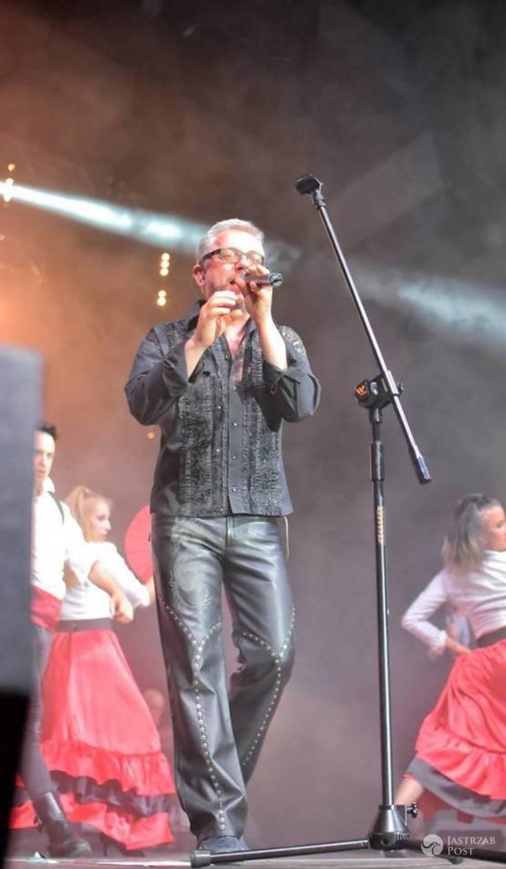 Jacek Łągwa na koncercie Ich Troje