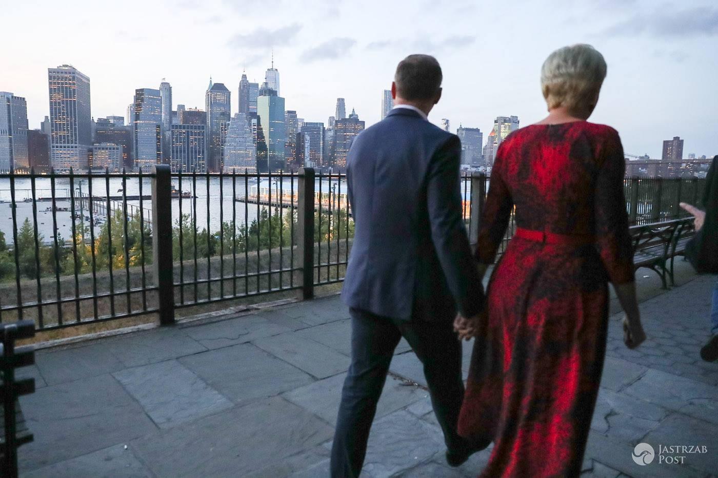 Andrzej Duda i Agata Duda w Nowym Jorku - wrzesień 2016