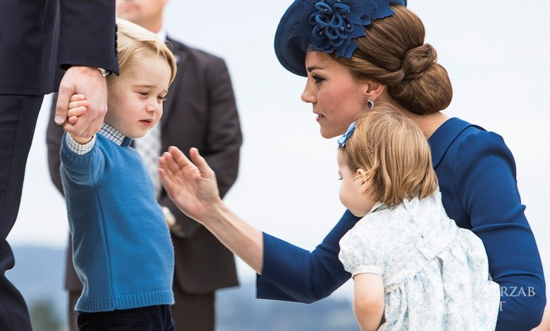 Książę George, Księżna Kate, księżniczka Charlotte w Kanadzie