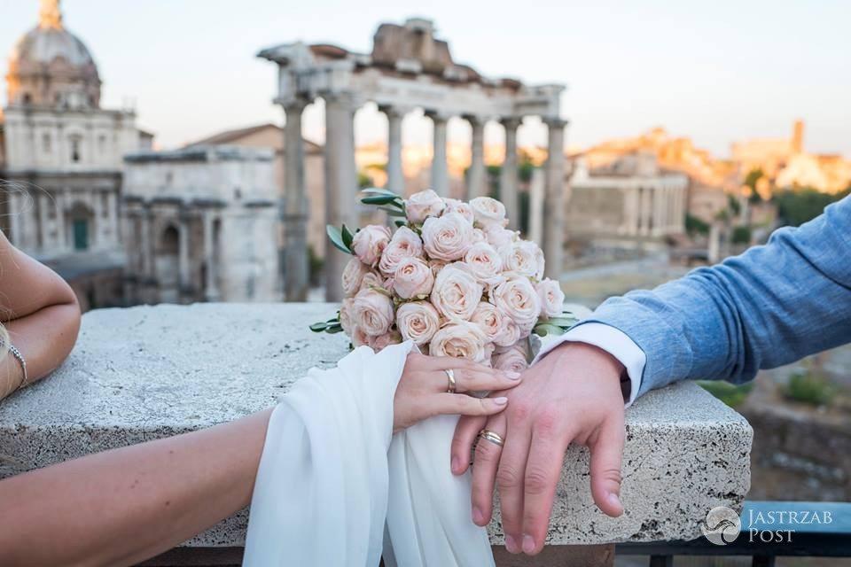 Zdjęcia ze ślubu Magdaleny Waligórskiej