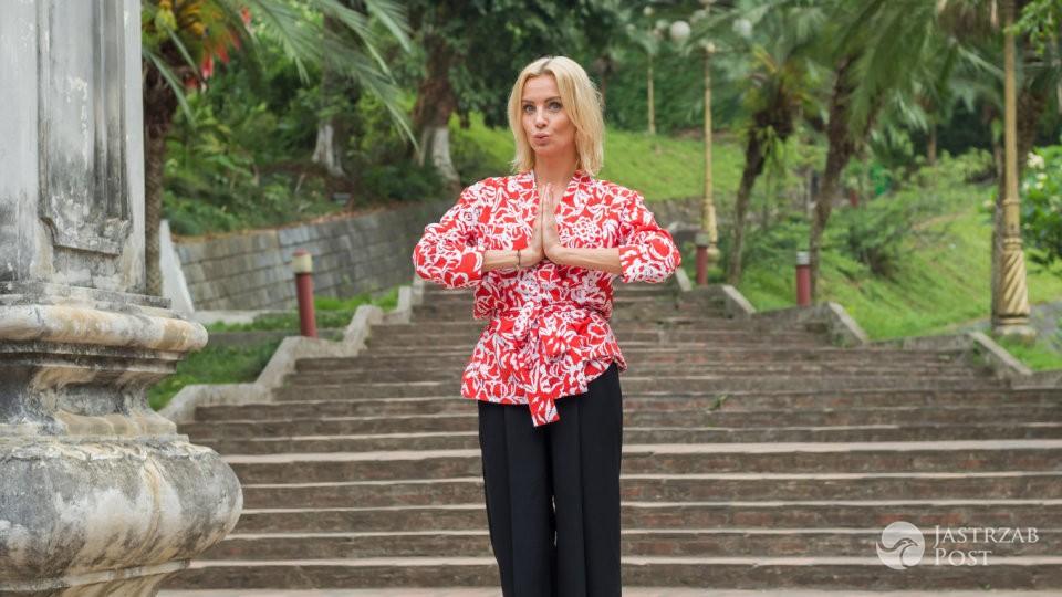 Agnieszka Szulim w programie Azja Exppress