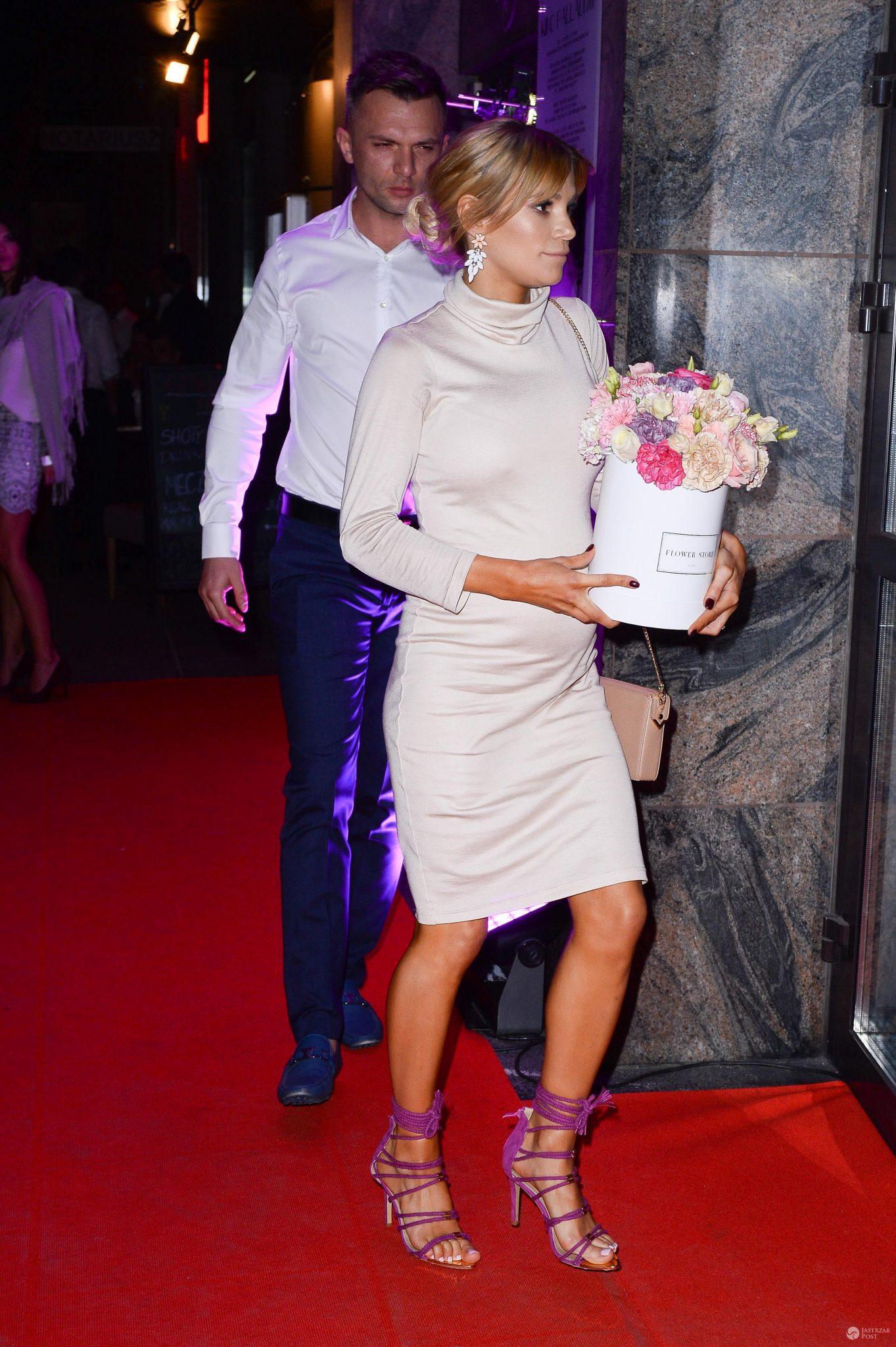 Maja Bohosiewicz z partnerem i ojcem dziecka