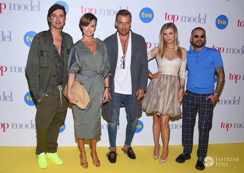 Jury i prowadzący Top Model 6 na konferencji