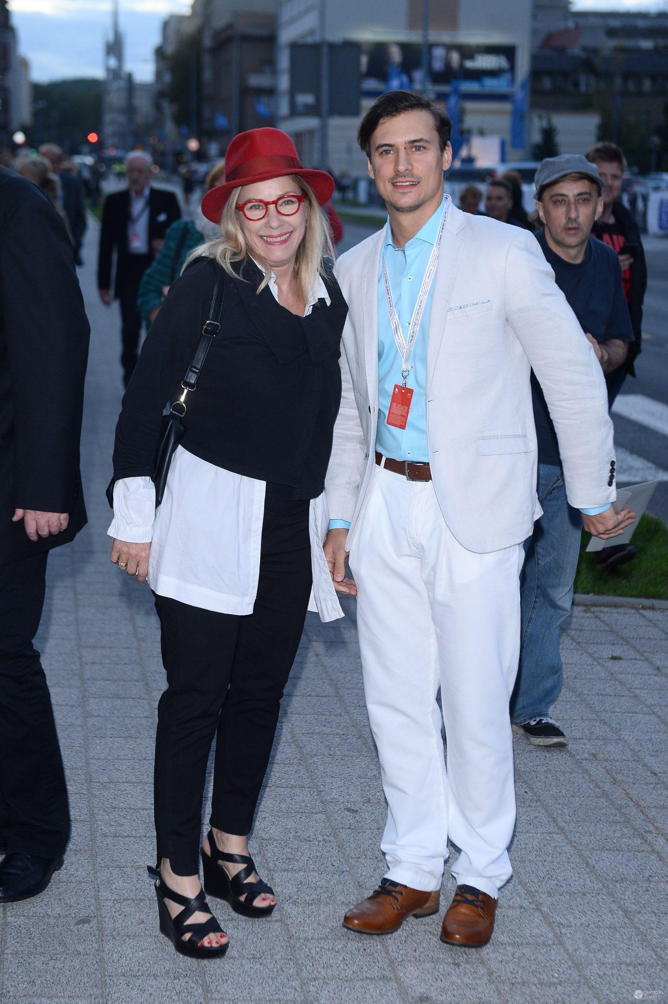 Małgorzata Potocka i Mateusz Damięcki na Festiwalu Filmowym w Gdyni 2016