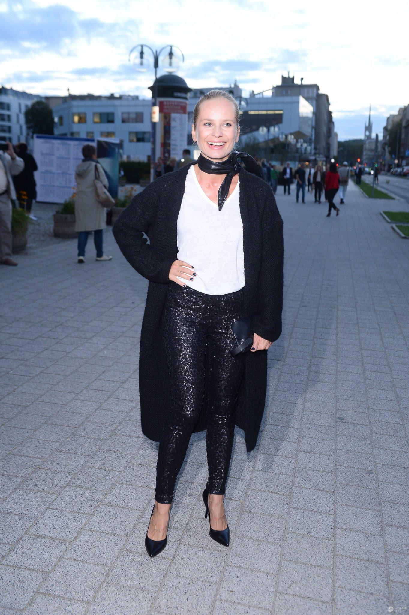 Magdalena Cielecka na Festiwalu Filmowym w Gdyni 2016