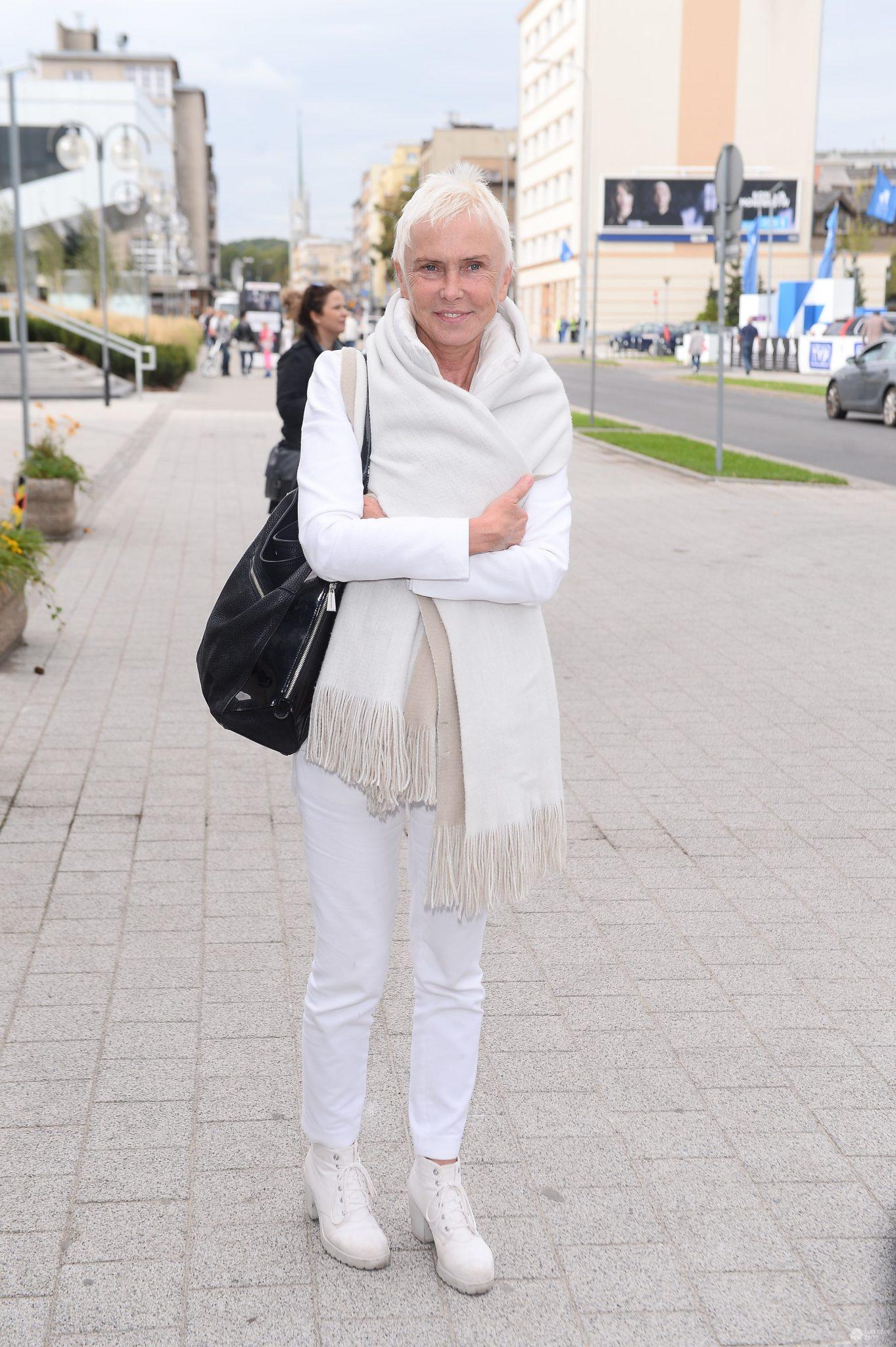 Ewa Błaszczyk podczas Festiwalu Filmowego w Gdyni