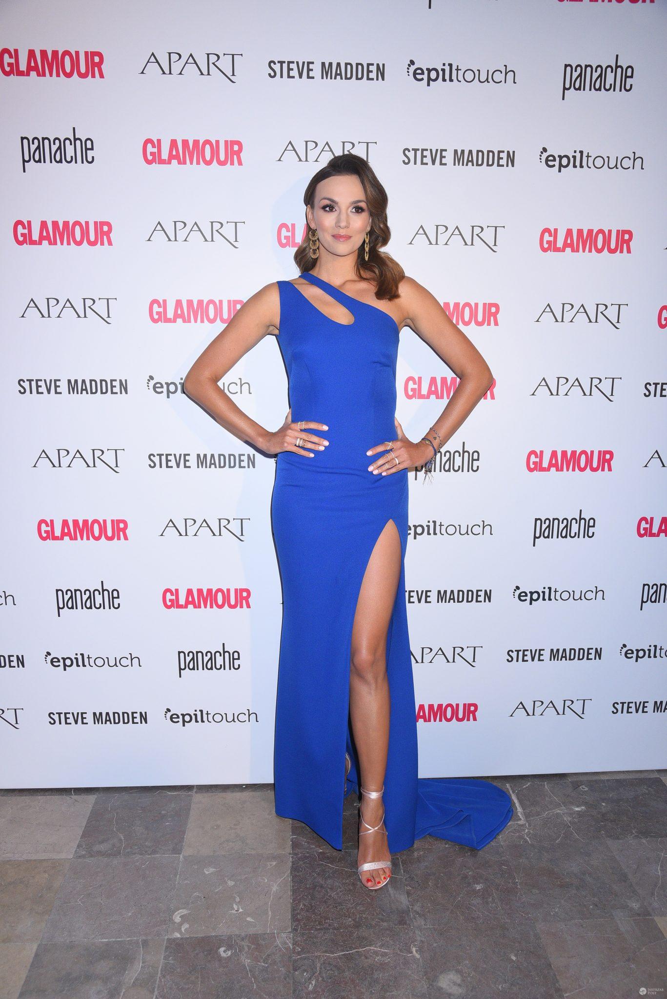 Paulina Krupińska na imprezie Kobieta Roku Glamour 2016