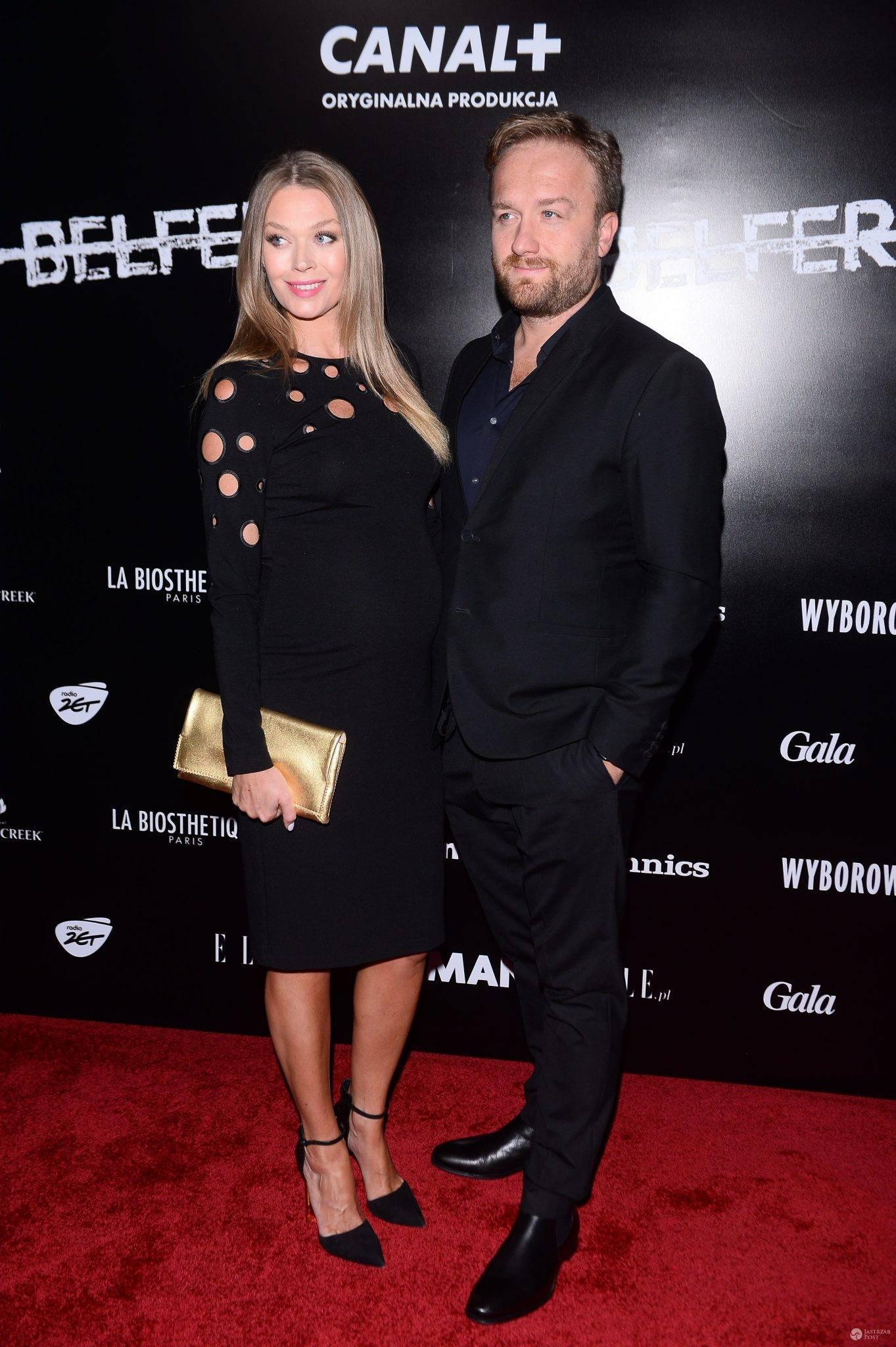 Bartek Kasprzykowski i Tamara Arciuch premiera serialu Belfer