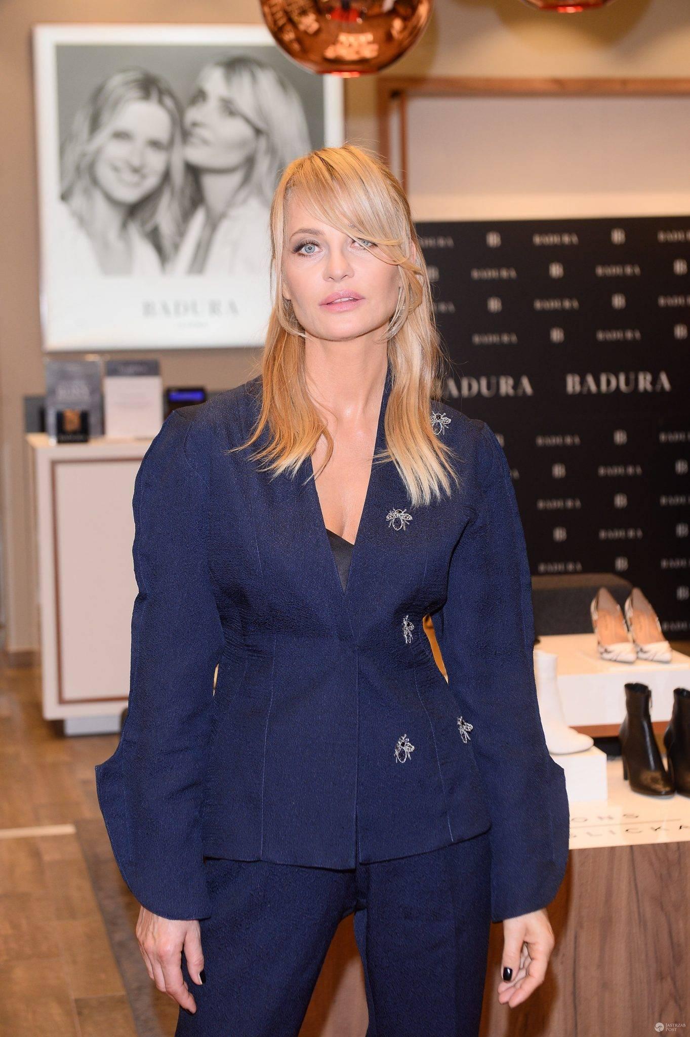 Aneta Kręglicka na imprezie marki obuwniczej. Zdjęcia 2016