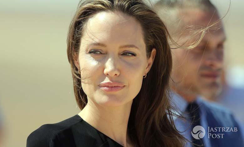 Angelina Jolie odwiedziła obóz dla syryjskich uchodźców. Zdjęcia