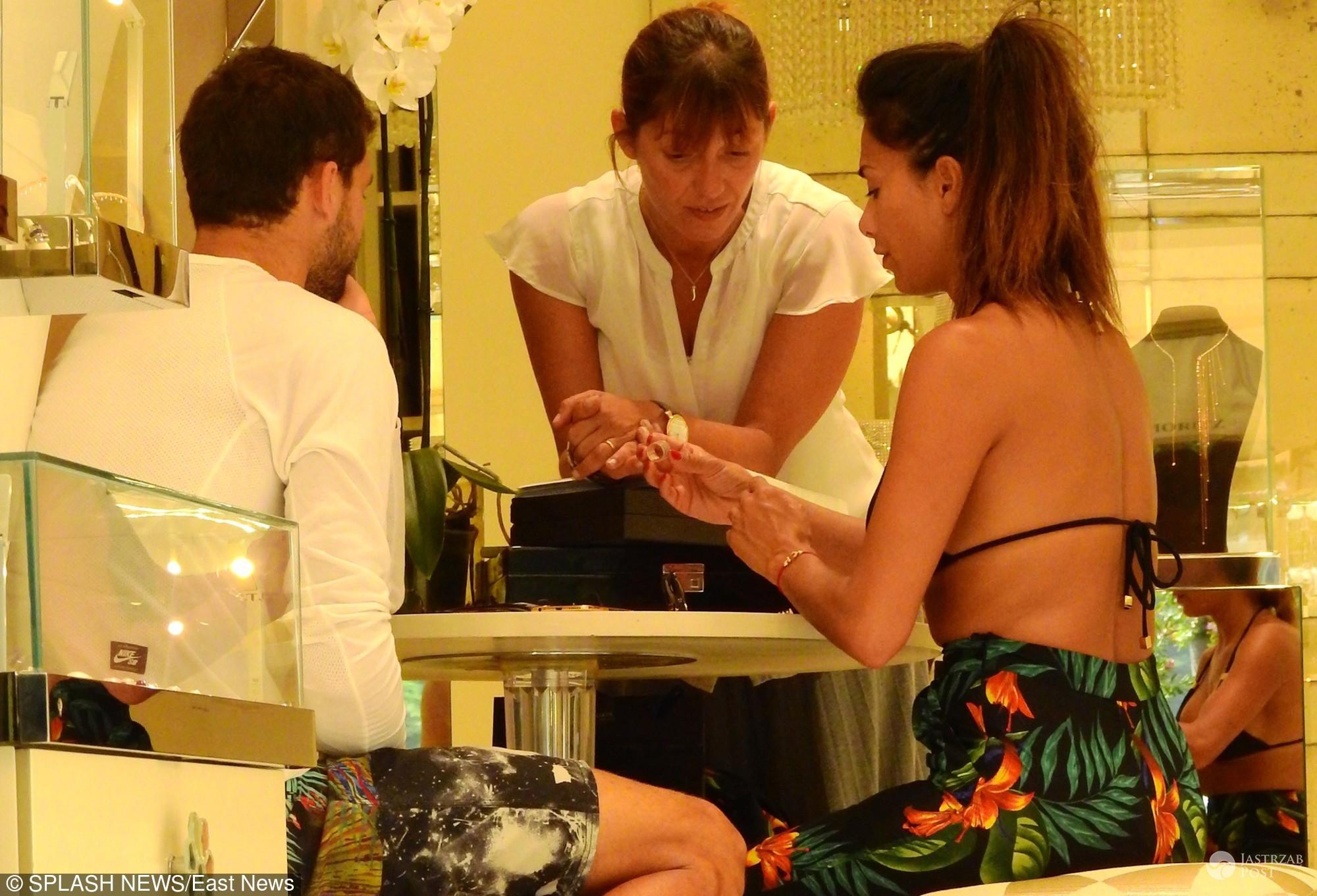 Nicole Scherzinger i Grigor Dymitrov kupują pierścionek