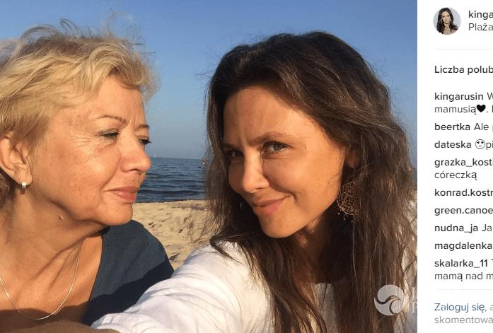 Kinga Rusin pokazała mamę