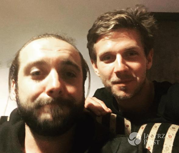Michał Żurawski i Antek Królikowski na Instagramie