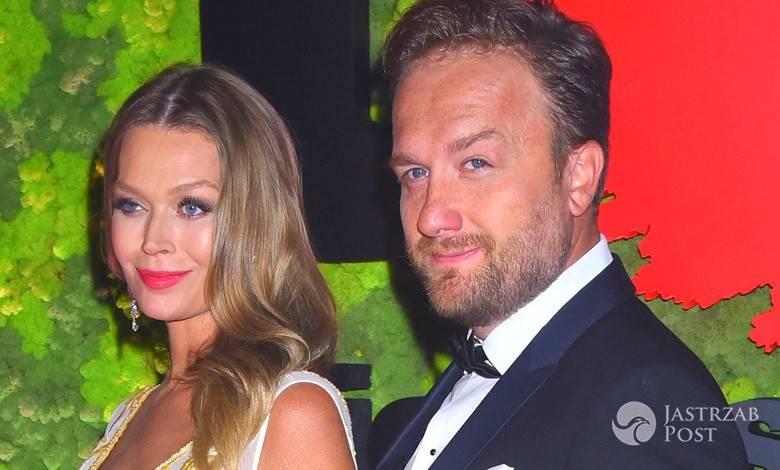 Ciężarna Tamara Arciuch i Bartek Kasprzykowski na balu Fundacji TVN 2016. Zdjęcia stylizacji