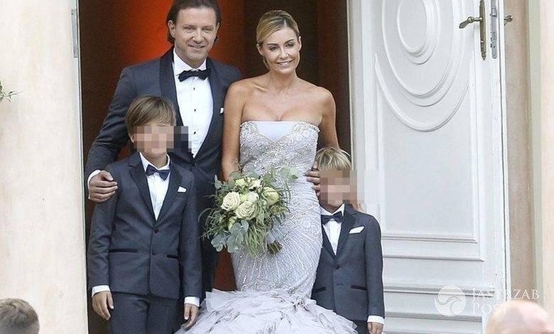 Małgorzata Rozenek na ślubie