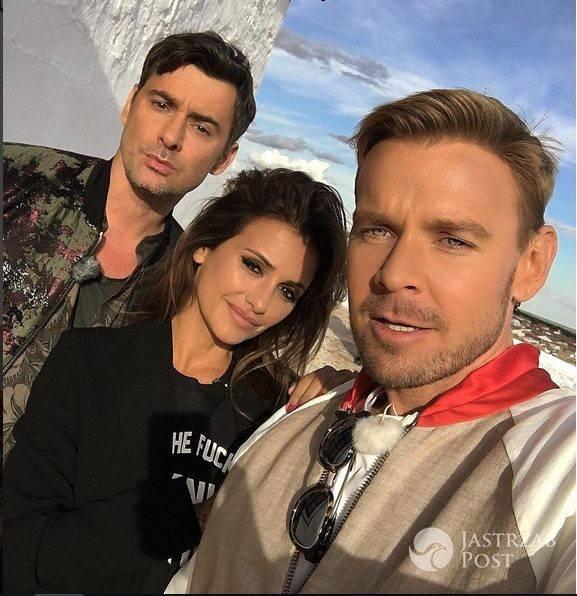 Zdjęcie (7) Marcin Tyszka stęsknił się za Kris Jenner. Wyciągnął zdjęcie z ich wspólnej imprezy. Tak się bawili w Paryżu