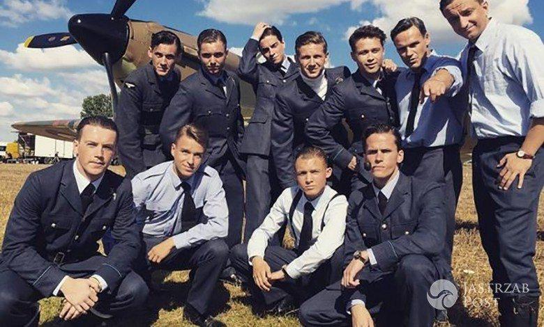 Aktorzy na planie filmu Dywizjon 303