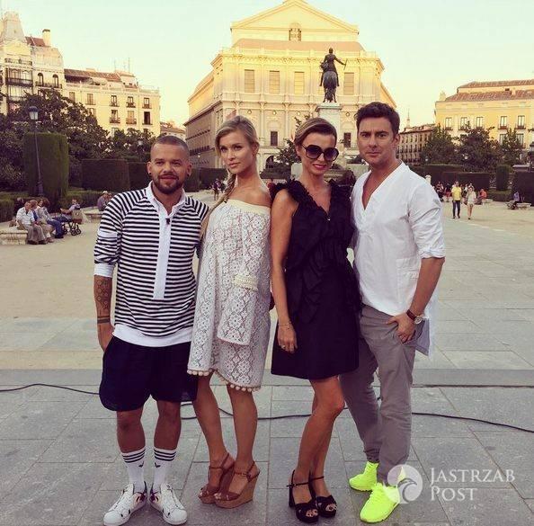 Jurorzy Top Model podczas nagrań w Madrycie