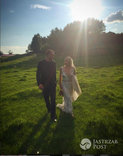 Kasia Warnke pokazała ślubne zdjęcie