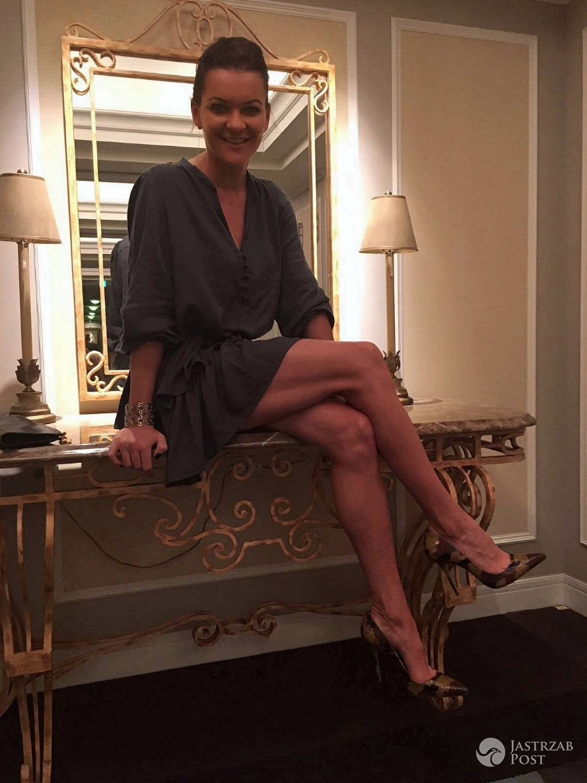 Agnieszka Radwańska chwali się nogami na Instagramie