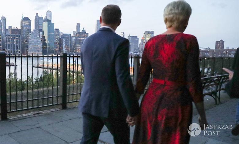 Agata i Andrzej Duda w Nowym Jorku