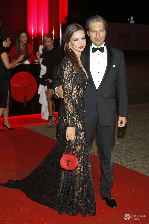 Kinga Rusin i Marek Kujawa - pary na balu TVN 2016