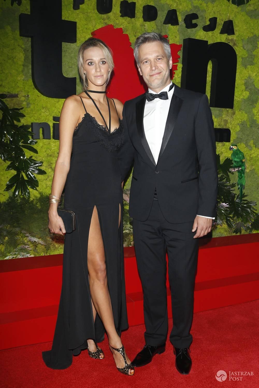 Aleksandra Żebrowska i Michał Żebrowski - pary na balu TVN 2016