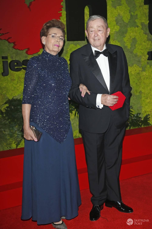 Bożena Walter i Mariusz Walter - pary na balu TVN 2016