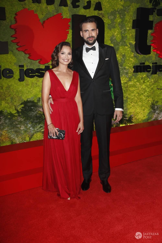 Ania Starmach z mężem - pary na balu TVN 2016