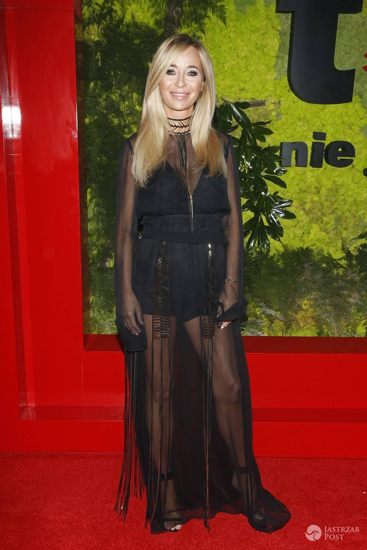Joanna Przetakiewicz na balu fundacji TVN 2016